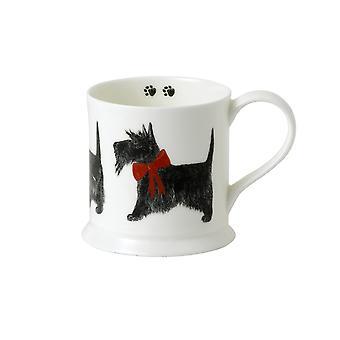 Roy Kirkham Ribbon Dog Ash Tankard Mug