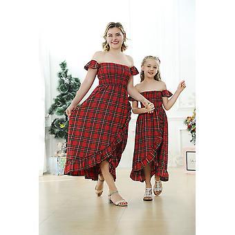 Mother Daughter Summer Fashion Dress