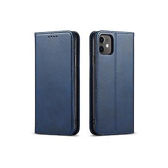 Flip folio nahkakotelo iphone 6/6s sininen pns-4909