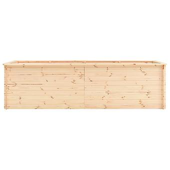 vidaXL Garten-Hochbeet 300×100×80,5 cm Kiefernholz 19 mm