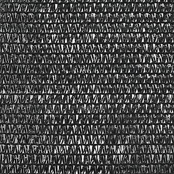 vidaXL Tennis Kehys Musta HDPE 1x25 m Musta