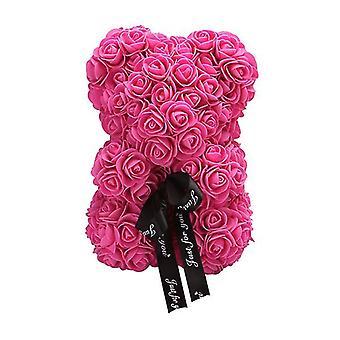 Rose red valentine's day gift 25 cm rose bear birthday gift£¬ memory day gift teddy bear az17187