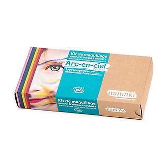 "8-color makeup kit ""Rainbow"" ORGANIC 1 unit"