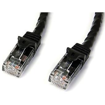 StarTech 1m Zwarte Gigabit Snagless RJ45 UTP Cat6 Patch Kabel