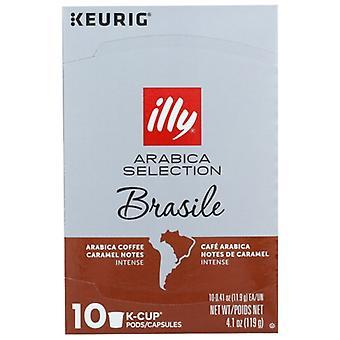 איליקפה קפה Kcup ברזיל Arabca, מקרה של 6 X 4.103 עוז
