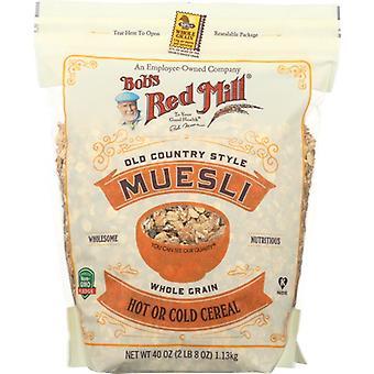 Bobs Red Mill Spannmål Müsli, Fall av 4 X 40 Oz