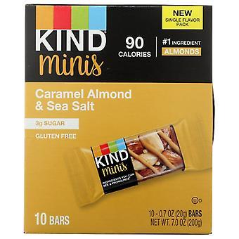 Kind Bar Crml Almnd Sea Salt, kotelo 8 X 7 oz