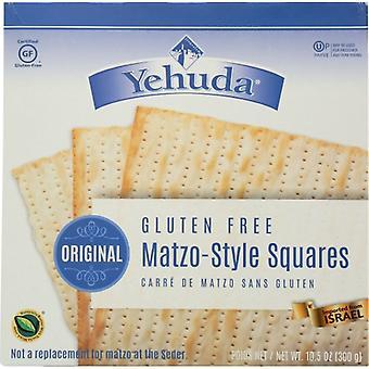 Yehuda Matzo Sqr Gf Original, Case of 12 X 10.5 Oz