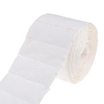 Roll White Nail Wipe Pad Nail Polish