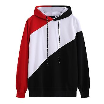 Sweat-shirt Pullover Hooded Loose Drawstring Homme's Pullover
