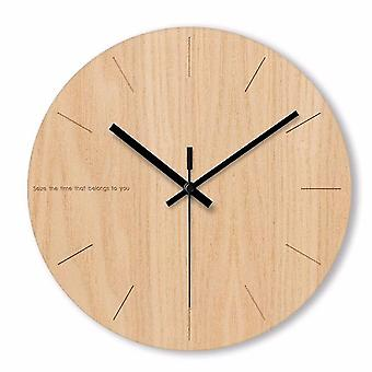 Uv3d الفن جدار ساعة حائط ساعة وقت ناعم