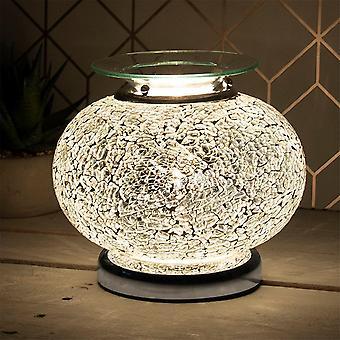 Lesser & Pavey Desire Mosiac Aroma Wax Melt Oil Touch Globe Lamp Lp46409