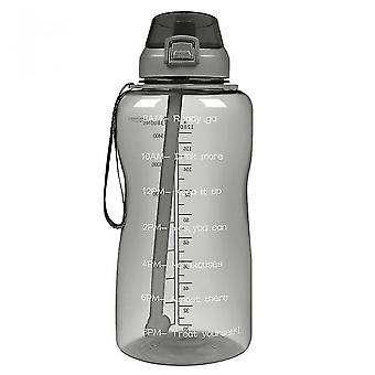 Large 1 Gallon Motivational Water Bottle,gym And Outdoor Sports