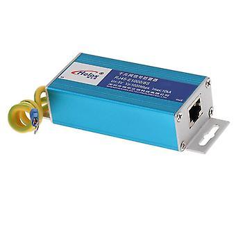 Power over ethernet adapters ethernet lan 1000mbps rj 45 surge protector for thunder lightning protection