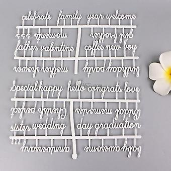 Letter Board Letters Set, Special Characters Words For Felt Changeable Message