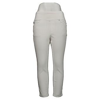Belle af Kim Gravel Kvinders Jeans Flexibelle Regelmæssig Jegging White A392574