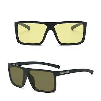 2021 Ny dator material night vision färg ändra hd solglasögon