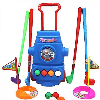 Sjov ung golfspiller sport legetøj kit til drenge og piger