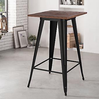 60CM Metall Esstisch Bar Hoher Tisch