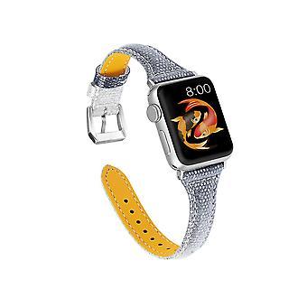Δερμάτινες ζώνες αντικατάστασης ζωνών λουριών για τις ζώνες Iwatch για τη σειρά ρολογιών της Apple 5 4 3 2 1-38mm