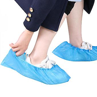 100 Pack (50 Pairs ) Disposable Boot Shoe Covers Slip