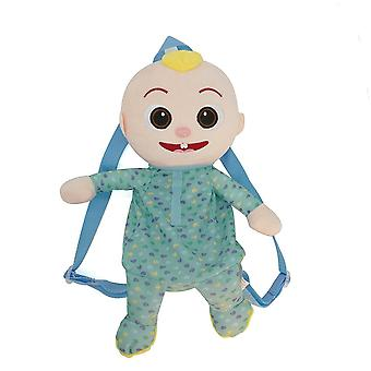 Jojo cocomelon jj series cute baby watermelon plush doll backpack, 23-37cm