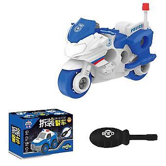 Children's afneembare motorfiets speelgoed