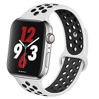 Silikonarmband lämpligt för Apple Watch-ventilerande armband (set-19)