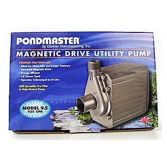 Pondmaster Pond-Mag Magnetic Drive Utility Pond Pump - Model 9.5 (950 GPH)