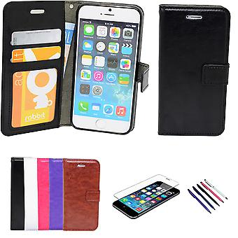 Iphone 5/5s/se2016 - Leather case / Wallet