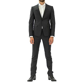 Emporio Armani Men Suit  Ankle length Full sleeve Grey