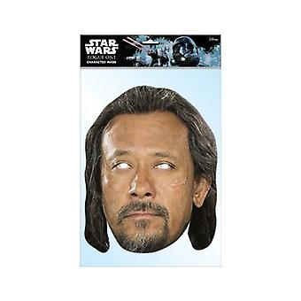 Baze Malbus Rogue One: A Star Wars Story Single 2D Card Party Fancy Dress Mask