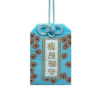 Gift bags homemiyn ornaments for phones and keys 6x4cm blue