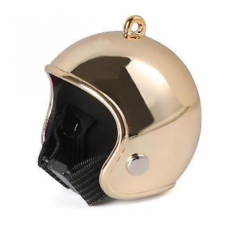 Pet id tags funny chicken helmet cap pet protective gear sun rain protection helmet toy bird hens duck quail hat