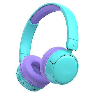 Kids  Bluetooth Headphone Volume Limited 85db(Turquoise)