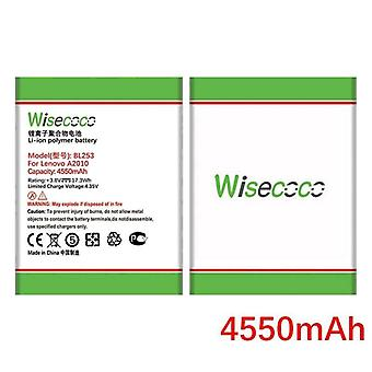 Wisecoco 4550mah Bl253 Battery For Lenovo A2010 A2800d A3800d A2580 A2860 Vibe