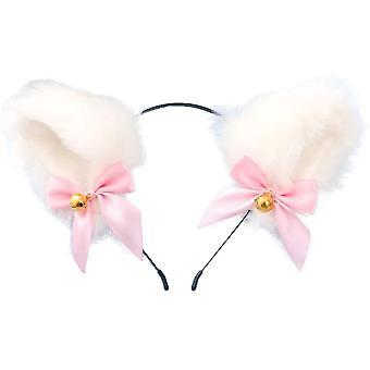 Fille Peluche Fourrure Chat Oreilles Headwear Accessoire