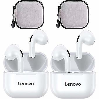 Lenovo Lp40 trådløs Bluetooth-øretelefoner med øretelefonveske