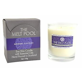 Medium Tumbler Patchouli & Ylang Ylang Candle by The Melt Pool