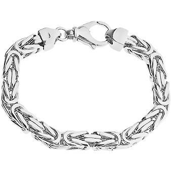 Sterling 925 Silver King bracelet - DOTTE 8x8mm