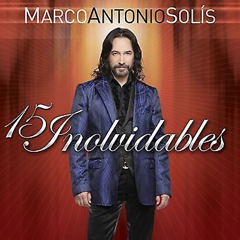 Marco Antonio Solis - 15 Inolvidables [CD] USA import