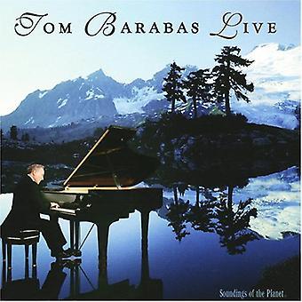 Tom Barabas - Live [CD] USA import