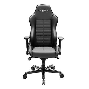 DX Racer DXRacer OH/DJ133/N Office Chair Perforated Vinyl and Leather Style Vinyl(Black)