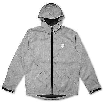 Lrg RC Windbreaker Jacket Grey Black