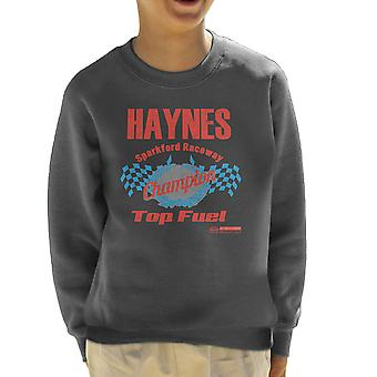 Haynes Brand Sparkford Raceway Top Fuel Kid's Sweatshirt