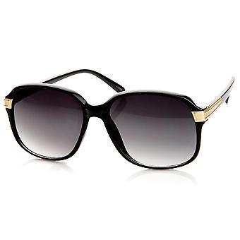 Ladies Fashion Mid Sized Square Frame Womens Sunglasses