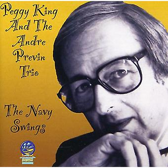 Previn, Andre with Peggy King - Navy Swings [CD] USA import
