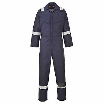 Portwest - Aberdeen Fire Retardant Hi-Vis Safety Workwear Coverall Boilersuit