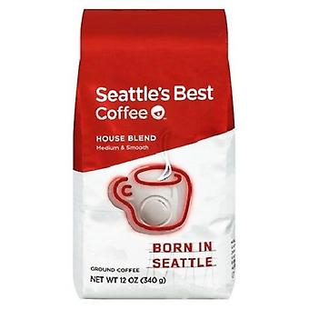 Seattle's Best Coffee House Mix grond