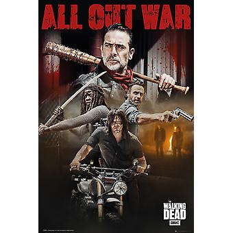 De Walking Dead seizoen 8 Collage Maxi Poster 61x91.5cm